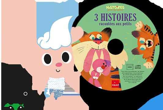 Le CD d'Histoires pour les Petits