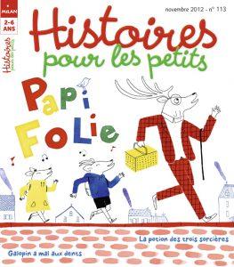 Papi folie dans Histoires pour les petits