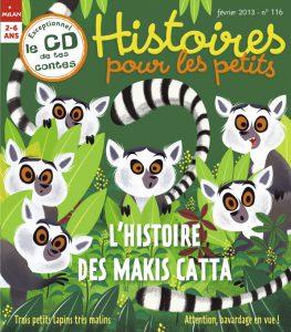L'histoire des makis cattas pour les petits
