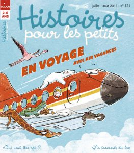 En voyage avec Air Vacances - Histoires pour les petits