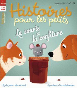 La souris et le pot de confiture - Histoires pour les petits
