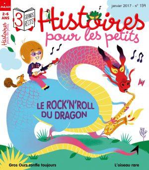 Le rock'n'roll du dragon - Histoires pour les petits