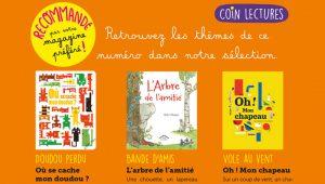 Coin lecture : des histoires pour les petits