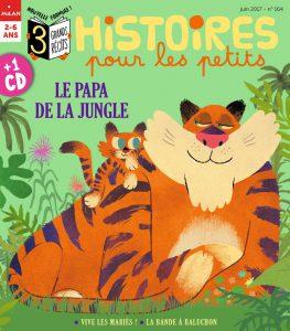Histoire pour les petits : le papa de la jungle