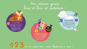 3 histoires à lire avec CD audio
