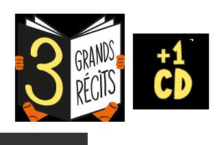 3 grands récits et 1 CD dans Histoires pour les petits