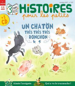 Un chaton très ronchon - Histoires pour les petits
