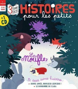 Bonne année 2018 avec Histoires pour les petits !
