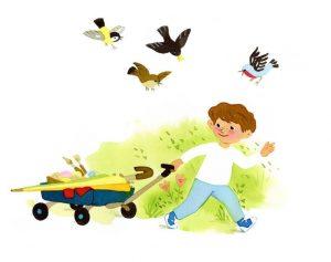 L'ami des oiseaux - Histoires pour les petits