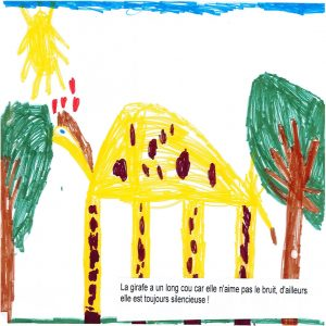 Classe de Maternelle-CP, école publique de Queyrières (43).