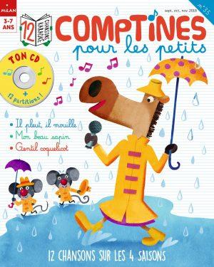 Comptines pour les petits : 12 chansons sur les 4 saisons