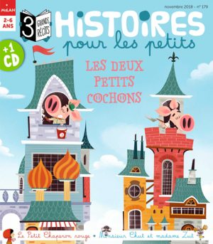 Histoires pour les petits : les deux petits cochons