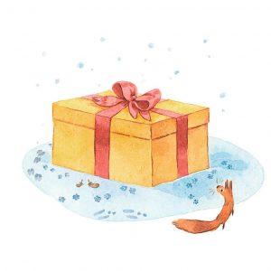 Le cadeau oublié - Histoires pour les petits magazine