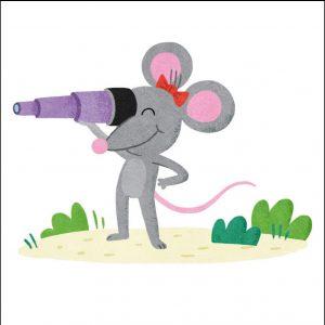 histoire pour rire : La souris géante