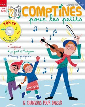 Comptines pour les petits : 12 chansons pour danser