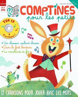 Comptines pour les petits : 12 chansons pour jouer avec les mots