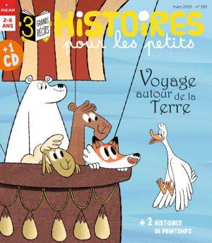 Voyage autour de la Terre - Histoires pour les petits magazine