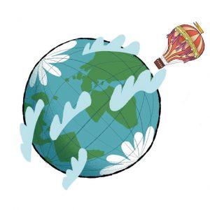 Voyage autour de la Terre - Magazine Histoires pour les petits