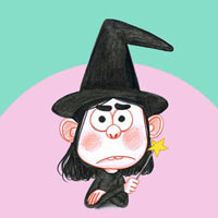 La petite sorcière mumu est têtue - Histoires pour les petits