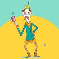 Bzzz la mouche du roi ! Histoires pour enfants dans le magazine Histoires pour les petits