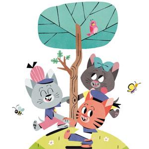 Histoire de chatons - magazine Histoires pour les petits