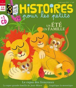 Un été en famille avec le magazine Histoires pour les petits