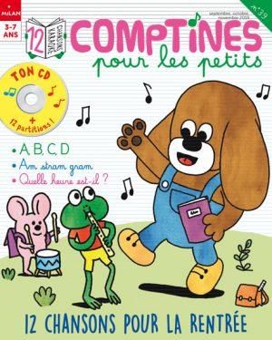 12 chansons pour la rentrée - Comptines pour les petits