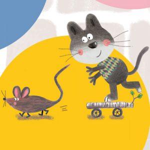 Histoires pour les petits Chat vit rat