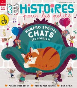 Numéro Histoires pour les petits spécial chats