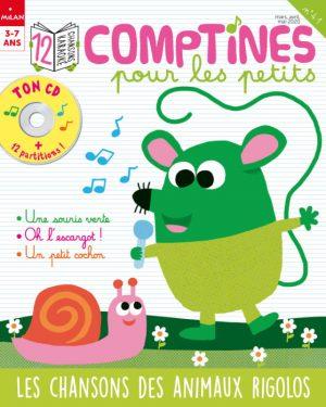 comptines pour les petits mars 2020 : Les chansons des animaux rigolos