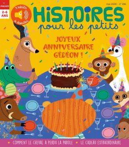 Joyeux anniversaire Gédéon !