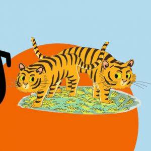 Les deux tigres et le renard - Histoires pour les petits magazine