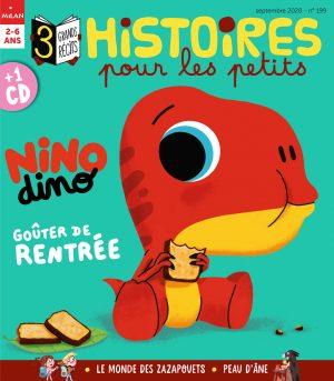Histoires pour les petits - Nino dino