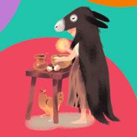 Histoires pour les petits - Peau d'âne