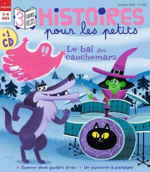 Le bal des cauchemars - Histoires pour les petits magazine