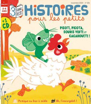 Picoti, picota, souris verte et cacahouète ! Histoires pour les petits magazine