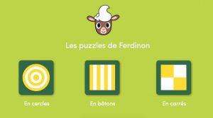 jeu puzzle ferdinon - Histoires pour les petits magazine