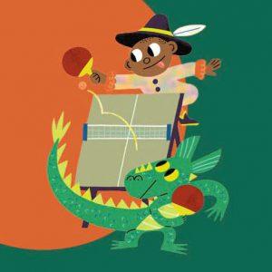 Prince Léon face à petit dragon - Histoires pour les petits magazine