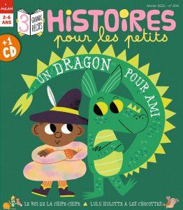 Histoires pour les petits - Un dragon pour ami - Février