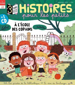 À l'école des copains - Histoires pour les petits magazine